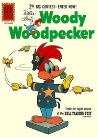 Cover Thumbnail for Walter Lantz Woody Woodpecker (Dell, 1952 series) #68
