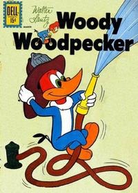 Cover Thumbnail for Walter Lantz Woody Woodpecker (Dell, 1952 series) #71