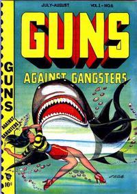 Cover for Guns Against Gangsters (Novelty / Premium / Curtis, 1948 series) #v1#6 [6]
