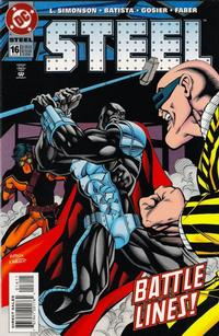 Cover Thumbnail for Steel (DC, 1994 series) #16 [Direct Sales]