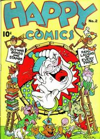 Cover Thumbnail for Happy Comics (Pines, 1943 series) #2