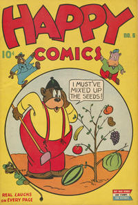 Cover Thumbnail for Happy Comics (Pines, 1943 series) #6