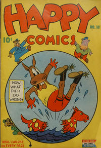 Cover Thumbnail for Happy Comics (Pines, 1943 series) #10