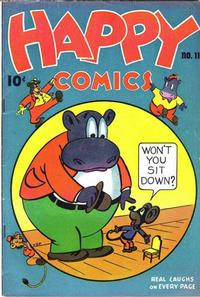 Cover Thumbnail for Happy Comics (Pines, 1943 series) #11