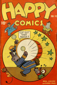 Cover Thumbnail for Happy Comics (Pines, 1943 series) #12