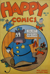 Cover Thumbnail for Happy Comics (Pines, 1943 series) #14