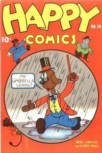 Cover Thumbnail for Happy Comics (Pines, 1943 series) #16