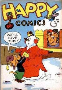 Cover Thumbnail for Happy Comics (Pines, 1943 series) #18