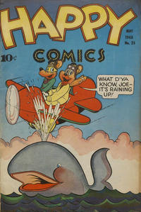 Cover Thumbnail for Happy Comics (Pines, 1943 series) #25