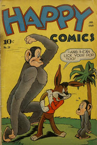 Cover Thumbnail for Happy Comics (Pines, 1943 series) #29