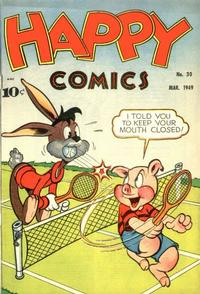 Cover Thumbnail for Happy Comics (Pines, 1943 series) #30