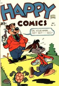Cover Thumbnail for Happy Comics (Pines, 1943 series) #31