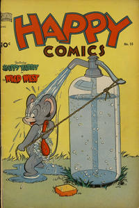 Cover Thumbnail for Happy Comics (Pines, 1943 series) #35