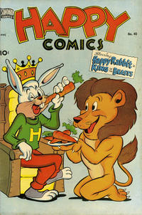 Cover Thumbnail for Happy Comics (Pines, 1943 series) #40