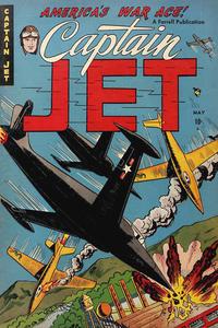 Cover Thumbnail for Captain Jet (Farrell, 1952 series) #1