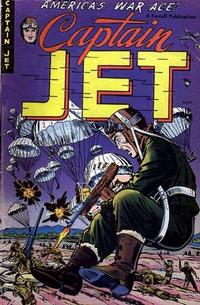 Cover Thumbnail for Captain Jet (Farrell, 1952 series) #4