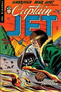 Cover Thumbnail for Captain Jet (Farrell, 1952 series) #5