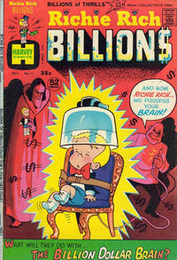 Cover Thumbnail for Richie Rich Billions (Harvey, 1974 series) #1