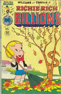 Cover Thumbnail for Richie Rich Billions (Harvey, 1974 series) #7