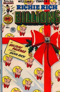 Cover Thumbnail for Richie Rich Billions (Harvey, 1974 series) #8