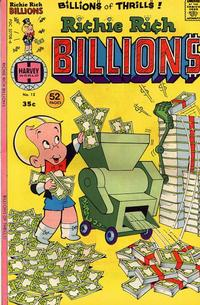 Cover Thumbnail for Richie Rich Billions (Harvey, 1974 series) #12