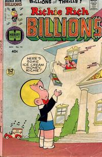 Cover Thumbnail for Richie Rich Billions (Harvey, 1974 series) #13