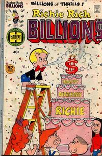Cover Thumbnail for Richie Rich Billions (Harvey, 1974 series) #14