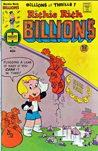 Cover Thumbnail for Richie Rich Billions (Harvey, 1974 series) #15