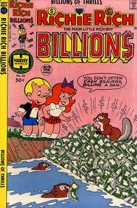Cover Thumbnail for Richie Rich Billions (Harvey, 1974 series) #22
