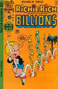 Cover Thumbnail for Richie Rich Billions (Harvey, 1974 series) #23