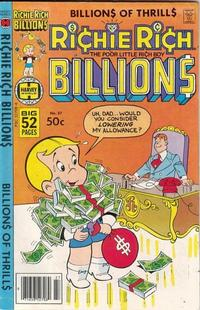 Cover Thumbnail for Richie Rich Billions (Harvey, 1974 series) #27