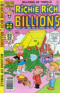Cover for Richie Rich Billions (Harvey, 1974 series) #29