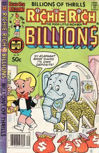 Cover Thumbnail for Richie Rich Billions (Harvey, 1974 series) #39