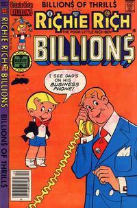 Cover Thumbnail for Richie Rich Billions (Harvey, 1974 series) #40