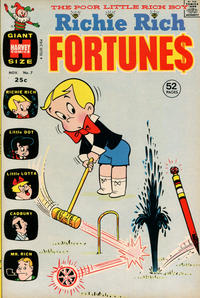Cover Thumbnail for Richie Rich Fortunes (Harvey, 1971 series) #7