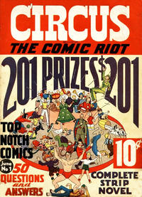 Cover Thumbnail for Circus The Comic Riot (Globe Syndicate, 1938 series) #1