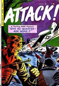 Cover Thumbnail for Attack! (Trojan Magazines, 1953 series) #5 [1]