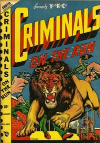 Cover Thumbnail for Criminals on the Run (Novelty / Premium / Curtis, 1948 series) #v4#1
