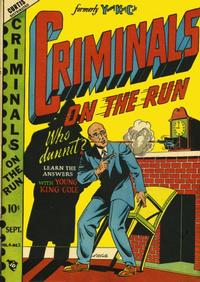 Cover Thumbnail for Criminals on the Run (Novelty / Premium / Curtis, 1948 series) #v4#2