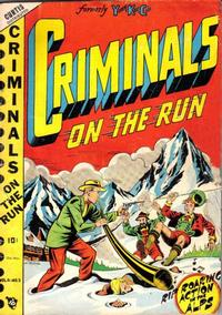 Cover Thumbnail for Criminals on the Run (Novelty / Premium / Curtis, 1948 series) #v4#3