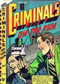 Cover Thumbnail for Criminals on the Run (Novelty / Premium / Curtis, 1948 series) #v4#5