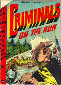 Cover Thumbnail for Criminals on the Run (Novelty / Premium / Curtis, 1948 series) #v4#7