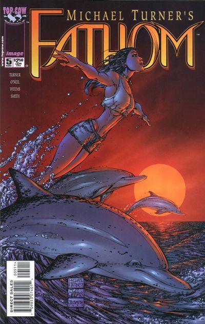 Cover for Fathom (Image, 1998 series) #5