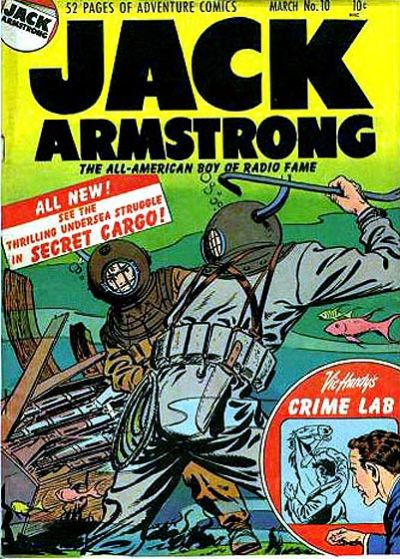 Cover for Jack Armstrong (Parents' Magazine Press, 1947 series) #10