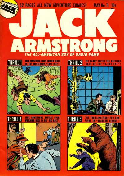 Cover for Jack Armstrong (Parents' Magazine Press, 1947 series) #11