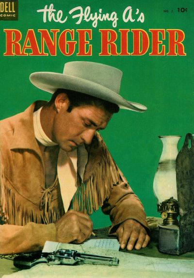 Cover for The Flying A's Range Rider (Dell, 1953 series) #2