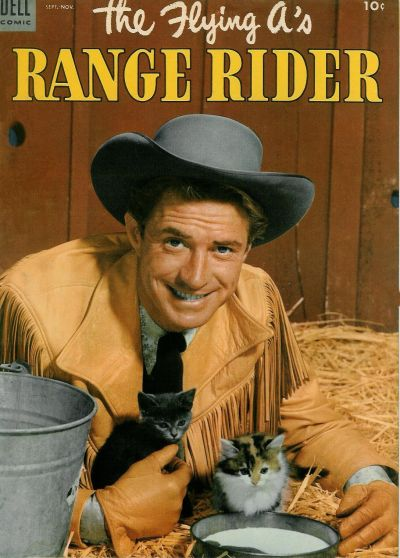 Cover for The Flying A's Range Rider (Dell, 1953 series) #3