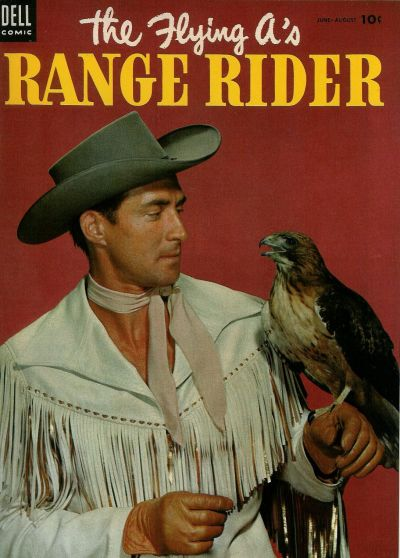 Cover for The Flying A's Range Rider (Dell, 1953 series) #6