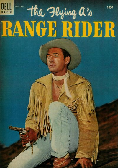 Cover for The Flying A's Range Rider (Dell, 1953 series) #7