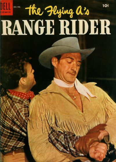 Cover for The Flying A's Range Rider (Dell, 1953 series) #8